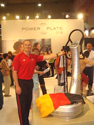 Mark Verstegen/Foto: Power Plate